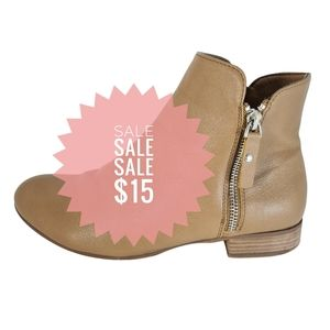 VYBE Womens Tan MENA Ankle Boots Size 7
